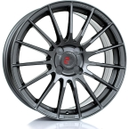 "2FORGE ZF1 GLOSS GUNMETAL 17""(757C10GM2FZF1-2FORGE-25-4X98-7.5X17)"
