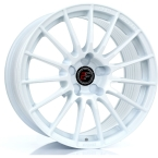 "2FORGE ZF1 WHITE 17""(757C10WH2FOZF1)"