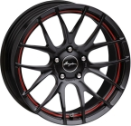 "Breyton Race GTS-R Matt Black with Red Undercut Area 17""(Race GTS-R 3)"