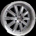 "Forzza Code Silver-Lip Machined Silver/Lip Machined 19""(BY9260000319520)"