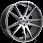 "Forzza Solo Grey Face Machined Grey Face Machined 22""(LU443000022512)"