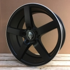 "WheelPower H561 Mat sort/poleret 17""(WH30)"