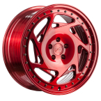 "Z-performance ZP5.1 Flow Forged Brushed Candy Red 19""(ZP518519511245666BTRL)"