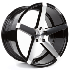 "Z-performance ZP6.1 Deep Concave Gloss Black/Polished 19""(ZP619019512045726GBFP)"