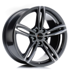 "Avus AF15 ANTHRACITE POLISHED 17""(A15075175112050667BW)"
