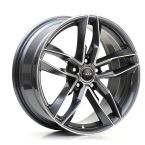 "Avus AF16 ANTHRACITE POLISHED 17""(A16075175112051571B0)"