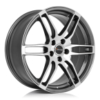 "Avus AF9 ANTHRACITE POLISHED 16""(A09065164108045634B0)"
