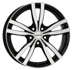 "Dezent TC dark Black/polished 15""(TTCK6BP38V)"