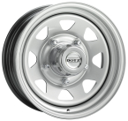 "DOTZ 4X4 Dakar Silver 15""(OR5NS)"