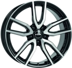 "Rial Torino Black & Pol. DIAMOND BLACK & POLISHED 16""(EW273459)"