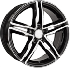 "Wheelworld Wh11 Black Full Machined BLACK FULL MACHINED 17""(EW316099)"
