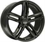 "Wheelworld Wh11 Dark Gunmetal DARK GUNMETAL 17""(EW320395)"