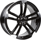 "Wheelworld Wh27 Black Full Machined BLACK FULL MACHINED 18""(EW319906)"
