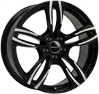 "Wheelworld Wh29 Black Full Machined BLACK FULL MACHINED 19""(EW326611)"