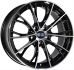 "ELITE Wheels Light sort/poleret 19""(EC14567)"