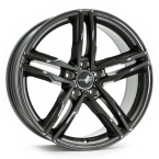 "Wheelworld WH11 Dark Gunmetal lackiert 17""(GTALU865-1136)"