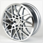 "Rotiform style Style Silver 18""(462)"