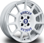 "Sparco Terra WHITE BLUE LETTERING 16""(W29046001G7)"