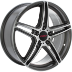 "MCW CIRCUIT Anthracite polished 18""(101049284)"