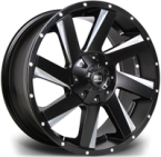 "RIVIERA XTREME RX100 BLACK POLISHED 17""(RX1001796X13915110BP-v1)"