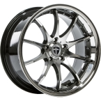 "Tomason TN8 Hyperblack diamond polished with Steel lip 19""(4250683504371)"