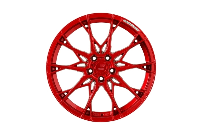 B52 X1 Reacher Candy red full machined - Limited edition 19""