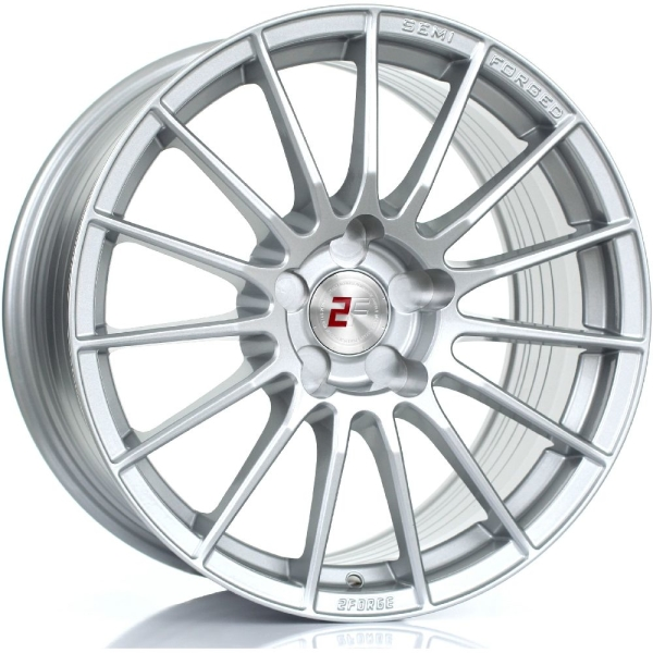 2FORGE ZF1 SILVER 17""