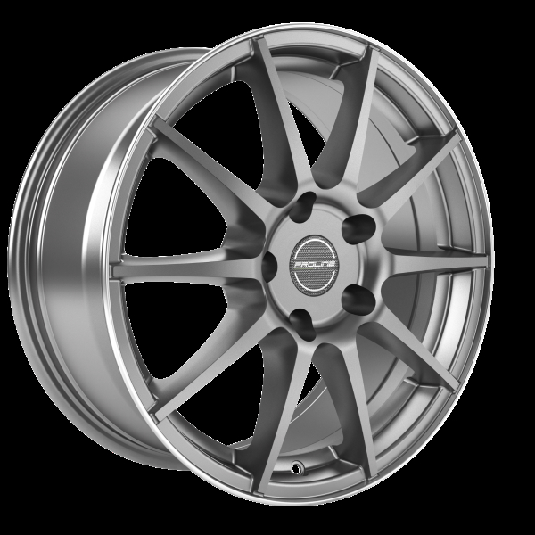 Proline UX100 grey rim polished 16""