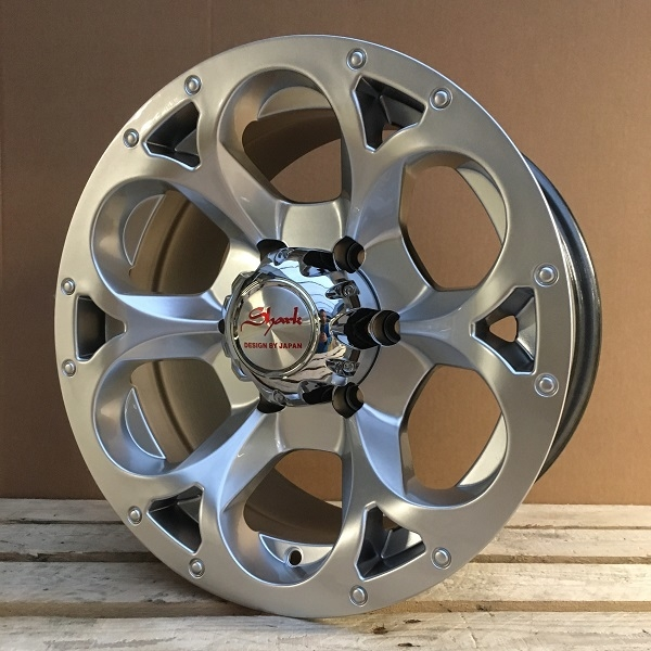 WheelPower H276 Hyper Sølv 17""