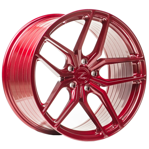 Z-performance ZP2.1 Deep Concave FlowForged Blood Red 19""