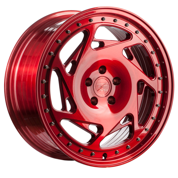 Z-performance ZP5.1 Flow Forged Brushed Candy Red 19""