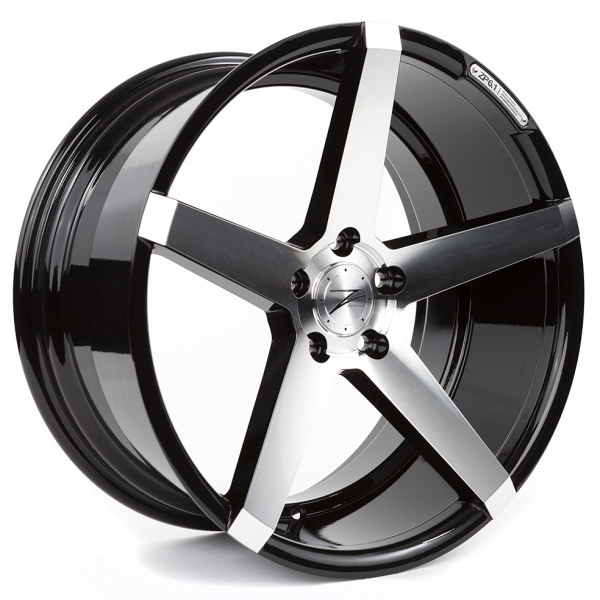 Z-performance ZP6.1 Deep Concave Gloss Black/Polished 19""
