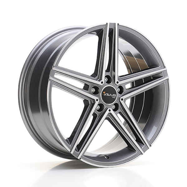 Avus AC-515 ANTHRACITE POLISHED 17""
