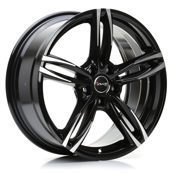Avus AF15 BLACK POLISHED 17""