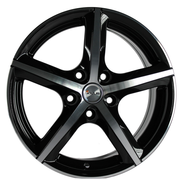 Avus AF8 BLACK POLISHED 16""
