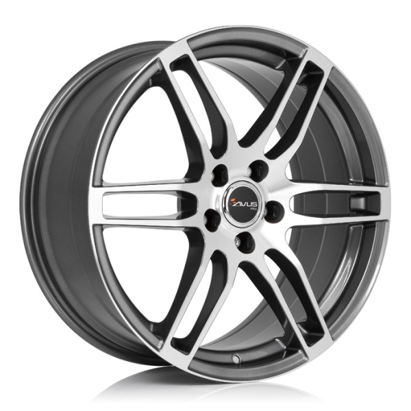 Avus AF9 ANTHRACITE POLISHED 16""