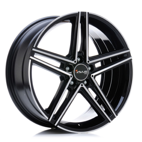 Avus AC-515 BLACK POLISHED 19""