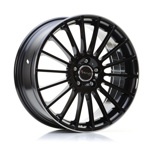 Avus AC-M03 BLACK POLISHED LIP 17""