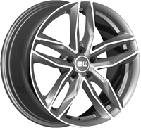 ELITE Wheels Must antrasit/poleret 20""