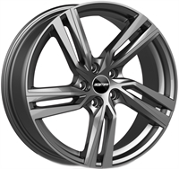GMP DEDICATED GMP Arcan Glossy Anthracite GLOSSY ANTHRACITE 17""
