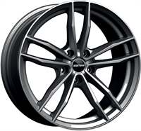GMP DEDICATED Swan Glossy Anthracite GLOSSY ANTHRACITE 17""