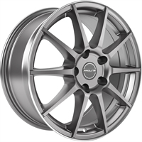 Proline UX100 Grey Rim Polished GREY RIM POLISHED 16""