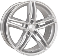 Wheelworld Wh11 Full Silver FULL SILVER 17""