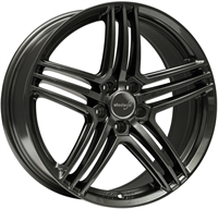 Wheelworld Wh12 Dark Gunmetal DARK GUNMETAL 17""