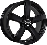 Wheelworld Wh24 Black Matt MATT BLACK 16""