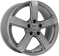 Wheelworld Wh24 Daytona Grey DAYTONA GREY 16""