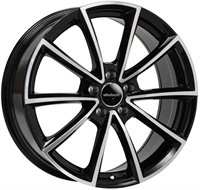 Wheelworld Wh28 Black Full Machined BLACK FULL MACHINED 19""
