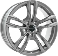 Wheelworld Wh29 Daytona Grau Lackiert   M+S Ece 17806 DAYTONA GREY 17""