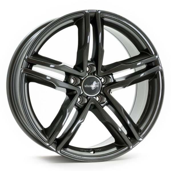 Wheelworld WH11 Dark Gunmetal lackiert 17""