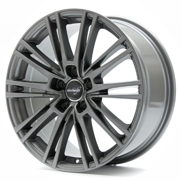 Wheelworld WH18 Dark Gunmetal lackiert 17""